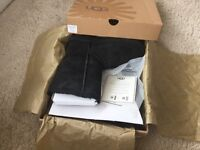 UGG Boots, black, new, unworn and boxed. UK size 5.