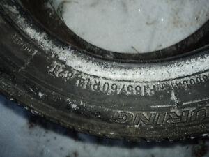 4 Used All Season Tires 70% Tread Left - Size P185/60R14 Edmonton Edmonton Area image 6
