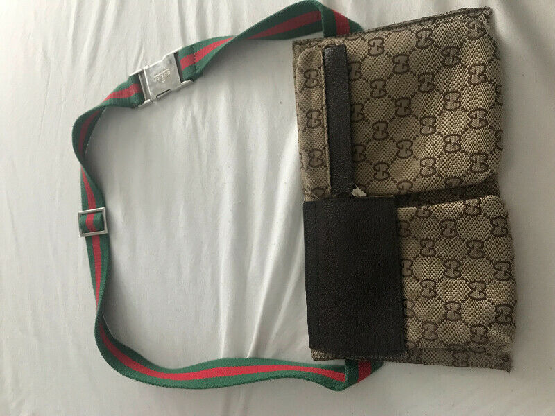 f3faaae5b0be7d Gucci Waist Pouch (Previously Owned) | Women's - Bags & Wallets | Gatineau  | Kijiji