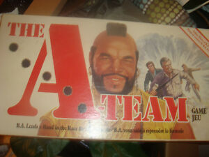 Vintage A-Team Board Game 1984 - in collectible condition