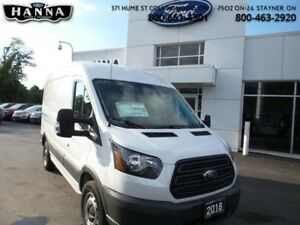 2018 Ford Transit Van BASE  Cargo - Medium Roof *130 WLB*