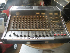 complete PA system or will sell by the piece -make me an offer