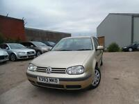 VW GOLF 1.6 PETROL 5 DOOR HATCHBACK
