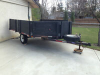2000 8.5X12 SNOWMOBILE, QUAD, UTILITY TRAILER