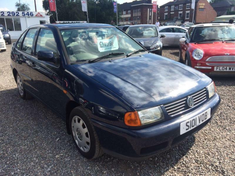 1998 VOLKSWAGEN POLO 1.6 L LOW MILEAGE LOW INSURANCE