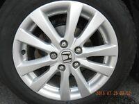 Mags /jantes Honda Civic d'origine 16 pouces