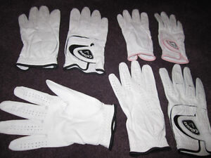 Callaway Cabretta Leather Golf Gloves - 3-Packs, some Singles Kitchener / Waterloo Kitchener Area image 8