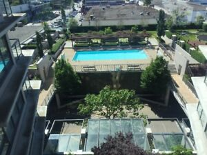 Furnished 1-bdrm high-rise apartment at Center Richmond