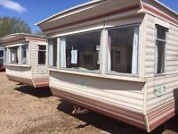 Static caravans for rent