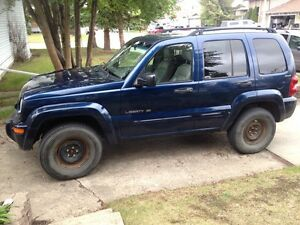 2002 Jeep Liberty MOVING SALE!!! NEED GONE