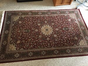 Authentic hand woven Red Urdebale Persian Rug