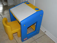 Little Tikes,  A desk with a chair  Great condition
