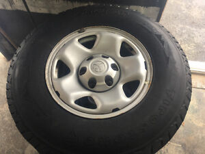 2010 Tacoma steel wheels and winter tires