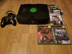 Xbox Original For Sale With Games Priced Separately