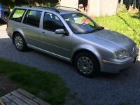 2003 VW Jetta Wagon 1.8T (Gas)