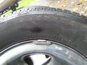 Tires on rims from Jeep TJ Kitchener / Waterloo Kitchener Area image 2