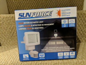 New! Solar powered LED light - weather resistant!
