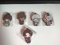 Touken Ranbu Anime Rubber Straps/Keychains
