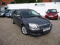 2004 Toyota Avensis 1.8 VVT-i T3-S, 5DR HATCHBACK LOW MILEAGE LONG MOT CRUISE EW