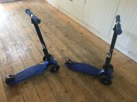 Maxi micro folding scooters deluxe £58 each
