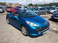 Peugeot 207 CC 1.6 16v 120 Coupe Sport