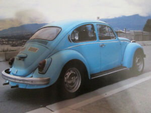 old school volkswagen beetle 1971