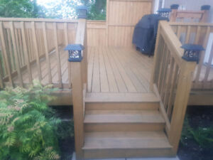 Need your deck/fence done?