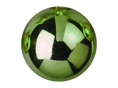 Dekokugel 3,5cm, hellgrün, glänzend (48Stk)