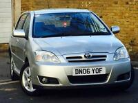 2006 TOYOTA COROLLA 1.6 Vvti*COLOUR COLLECTION*5 DOOR*7 SERVICE STAMPS*
