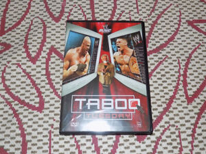 WWE TABOO TUESDAY DVD,NOVEMBER 05 PPV CENA VS. ANGLE VS MICHAELS