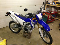 Looking to trade new WR250R enduro for vehicle of similar value