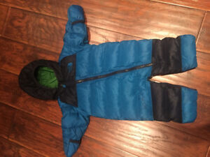 NorthFace Down Infant Suit size 6-9Mo