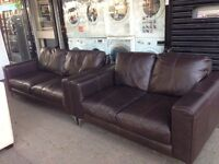 ***NEW EX DISPLAY set of 2 seater and 3 seater sofas for SALE***