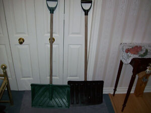 SNOW SHOVELS  --  2 OF THEM