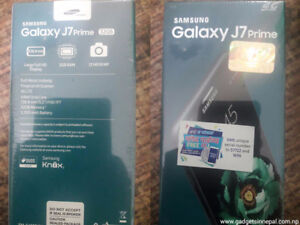 BRAND NEW SEALED SAMSUNG J7 PRIME - BUY FROM A STORE