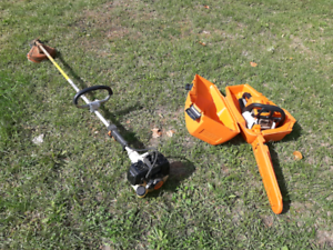 Weed eater,gas trimmer  Stihl prof. Grade