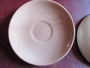 4 Saucers Mint Condition