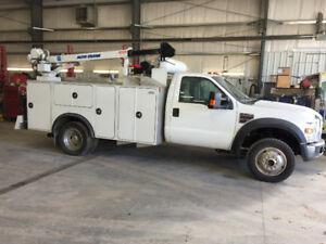 Service mechanical truck 2008 Ford F-550