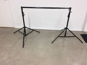 Background Kit (Include Stands 3 m Telescopic Bar and Bag)