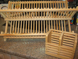 IKEA DISH DRYING RACK with UTENSIL HOLDER Regina Regina Area image 1