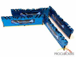 16 GB RAM 2133 DDR4 Ripjaws 4 Blue