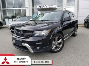 2017 Dodge Journey AWD 4DR CROSSROAD  - LEATHER, SUNROOF, 7 PASS