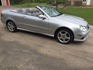 2005 Mercedes CLK500 AMG Trim-CONVERTIBLE US CAR BLUETOOTH