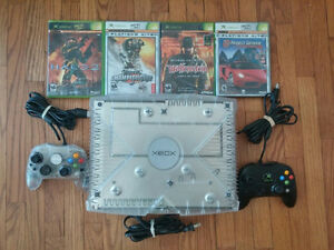 Limited Edition XBOX Crystal with Games