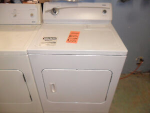 Reconditioned Dryers with 6 month warranty
