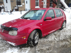 2003 Volkswagen Golf fabricks Hatchback