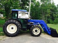 Tracteur New Holland TN75