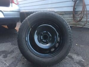 Lightly used winter tires