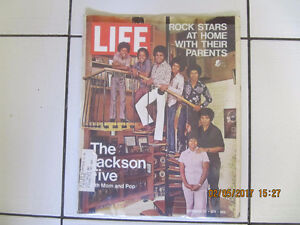 Classic LifeMagazine The JacksonFive with Mom & Pop Sept 24 1971