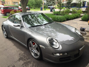 Porsche 911 C4S (2008) Manual 3.8L Meteor Gray